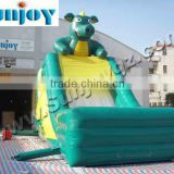 2016 Latest Outdoor Kids Water Dry Inflatable Slide Game inflatable slide amusement game,amusement park 0012