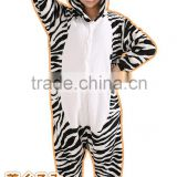 New Fantastic Zebra Adult Animal Winter Pajama Fleece Onesie KK849