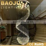 China lighting factory price chandelier top crystal lamp
