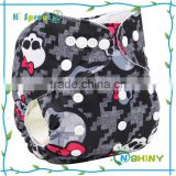 Baby Night AIO Cloth Diaper Reusable Diapers wholesaler All Size In One Packet With Two Insert