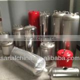 helium gas cylinder with stainless steel material