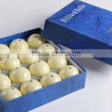 "Tournament blue dot 16 pcs pool billiard cue balls 57.2mm (2-1/4"")."