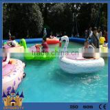 Water Battery Operated Inflatable Kids Electric Bumper Boats