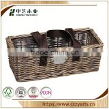 HOT SALE Decorative china factory hot sale furniture of wicker basket no handles