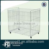 Chrome plated wire metal basket