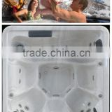 2015 factory sexy hot tub massage spa,sex massage hot water spa,round freestanding air bath tub
