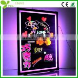 Outdoor Strong Body Fluorescent Led Writing Board