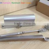 DECHEN Household Speed Control Type Hydraulic Adjustable Aluminum Door Closer with FIre channel
