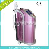 YUWEI CE Certificate Xenon IPL Lamp Smooth Cool IPL Depilacion IPL Hair Removal equipment