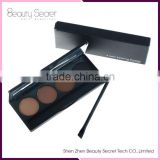 long-lasting 4 colors Eye brow Pencil eyebrow powder with brush