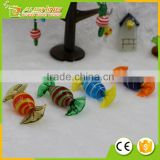 Wholesale best nice factory supplied glass candy christmas tree ornaments /GLASS HARD CANDY ORNAMENTS