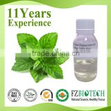 Chinese Supplier Bulk Private Label Service 100% Pure Natural Edible Peppermint Essential Oil