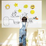 Kawachi Whiteboard Wall Sticker Removable Vinyl Sticker Decal with One Free Pen (45 x 200 cm)