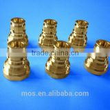 [Brass/Copper/Aluminium/Stainless Steel] Anodized CNC Lathe Machining/Milling Parts [Anodize/Polish/Drill available]
