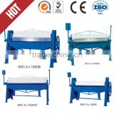 sheet metal manual folding machine/manual folder for HVAC/manual bending machine, manual shearing machine