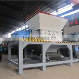 Special design waste tyre recycling shredder machine/wood carton crusher with factory price