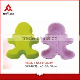 Popular silicone kids silicone baking set/silicone cake pop molds