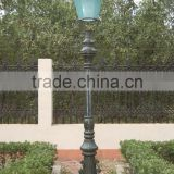 decorative cast iron street lamp post