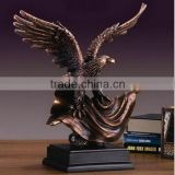 High quality brass eagle cremation urn stand