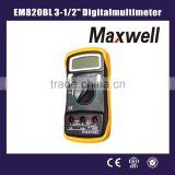 EM820BL 3-1/2'' Digital multimeter/standard digital multimeter
