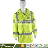 High Visibility Blue Safety Security Reflective Strip Jacket