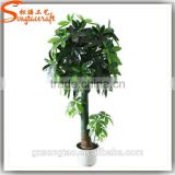 Songtao company high quality artificial plants potted plant bonsai tree 185cm plastic lucky tree