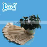 Flag Skewers For BBQ Smooth Eco-friendly Bamboo Sticks with Handle