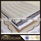 King Size Embroidery logo 100% cotton 200tc sheets bed set for hotel