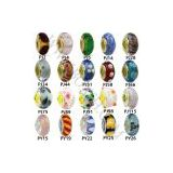 Pandora Murano Glass Bead Charm Wholesale 14k Gold and 925 Silver Single Core for Bracelet,Necklace