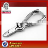 Stainless steel cuticle nipper for manicure pedicure