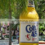 Colt inflatable beer bottle/wine can/beer jar