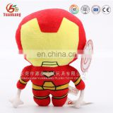 Custom cartoons character plush toys movie action figures super hero soft toys