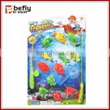 Kids fishing net toy with fish
