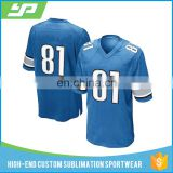 Sublimation custom cheap youth american football jersey for wholesale