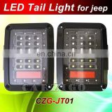 new style jeep wrangler accessories made in china DOT SAE Reverse lamp