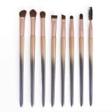 OEM Factory Customized 8pcs Synthetic Gradient Beautiful Makeup Brush Set Professional Makeup Brush Eye Brush