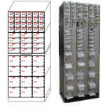 OEM / ODM plastic -sprayed surface high quality and practical bank safe locker