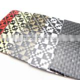 Carbon Fiber Cloth for Custom Carbon Item Bags Card Wallet