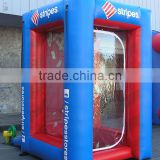 Inflatable cash booth advertising promotions booth cash room for sale