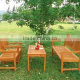 HOT SELLING - Leisure outdoor furniture - wooden sofa garden set - chair and table made in vietnam