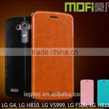 MOFi Case Funda Celular Housing for LG G4 H815, Mobile Handset Coque Flip Leather Back Cover for LG G4 H818