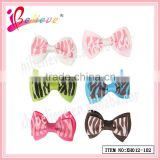 Hot sale jewelry in Europe countries exquisite double layers ribbon bow animal hair accessories (XH012-102)