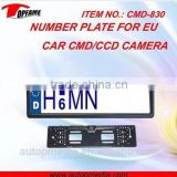 CMD-830 CMOS/CCD license plate back up camera for EU, 120/170 field view, with niht vision optional