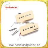 A Set of Electric guitar Soapbar Single Pickups for Electric guitar parts, Soap bar Pickups