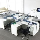Modern 4 person workstation cubicles furniture (SZ-WSB405)