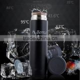 Home Office Business Stainless Steel Vacuum Thermal Dull Polish Warm Travel Mug Cup Bottle