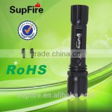 mini size high power with car charger cree led flashlight