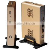 V2-D2550 High Configuration Mini PC With Nettop Wifi,3D Game,Fanless,Metal Case