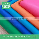 multicolor microfiber polyester fabric peach skin / quilt fabric