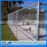 new 2016 Trade assurance Factory price Diamond wire mesh/6ft Black Vinyl Coated Galvanized Chain Link Fence Per Sqm Weight